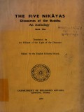 The Five Nikayas (Book One)